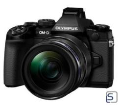 Olympus OM-D E-M1 Kit EZ-M 12-40mm leasen, schwarz