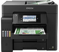 EPSON EcoTank ET-5800 Drucker Scanner Kopierer Fax LAN WLAN + 3 Jahre Garantie* leasen