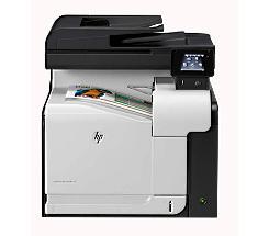 HP LaserJet Pro 500 color MFP M570dw Farblaserdrucker Scanner Kopierer Fax bei uns leasen