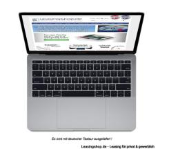 Apple MacBook Pro 13, 2.3 GHz 256 GB SSD leasen, Space Grau MPXT2D/A