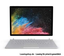 Microsoft Surface Book 2 leasen, 15 Zoll, i7 16/256GB SSD