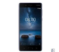 Nokia 8 glossy blue 64 GB leasen, Android