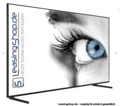 Samsung GQ85Q900 8K TV leasen