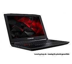 Acer Predator Helios 300 FHD i7-8750H leasen, 17,3 Zoll