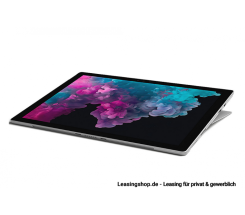 Microsoft Surface Pro 6, i7 16GB 512 GB SSD leasen, Platin Grau, aktuelles Modell
