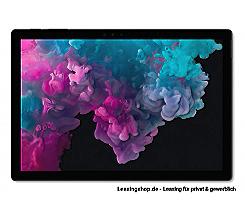 Microsoft Surface Pro 6 für Unternehmen, i7 16GB 512 GB SSD leasen, schwarz mit Windows 10 Pro