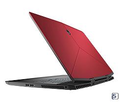 DELL ALIENWARE M17 UHD leasen, i7/16GB/256GB SSD/RTX2080, Nebula Red