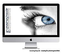 Apple iMac 27 mit i5 6-Core, 3.1 GHz leasen, Retina 5K MRR02D/A, neu 2019