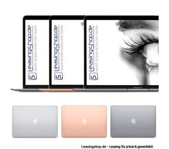 Apple MacBook Air, 1.6 GHz, i5, 16/128 GB bis 1 TB SSD, leasen, Space Grau MVFH2D/A, Silber MVFK2D/A, Gold MVFM2D/A, Modell 2019, CTO