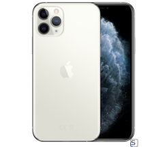 Apple iPhone 11 Pro Max, 256 GB Silber ohne Vertrag leasen