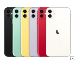 Apple iPhone 11, 128 GB in 6 Farben ohne Vertrag leasen