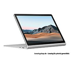 Microsoft Surface Book 3 leasen, 15 Zoll, i7 32/1TB SSD, RTX 3000, Windows 10 Pro