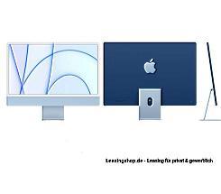 Apple iMac 24 mit 4,5K Display 256 GB Blau leasen, M1 Chip 8-Core CPU und 8-Core GPU, MGPK3D/A