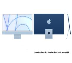 Apple iMac 24 mit 4,5K Display 512 GB Blau leasen, M1 Chip 8-Core CPU und 8-Core GPU, MGPD3D/A