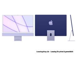 Apple iMac 24 mit 4,5K Display 512 GB Violett leasen, M1 Chip 8-Core CPU und 8-Core GPU, Z131