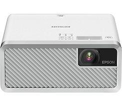 Epson EF-100W HD 16:10 mobiler Laserprojektor 2000 Lumen HDMI/USB/BT Android TV Leasing - Oft besser als Ratenkauf