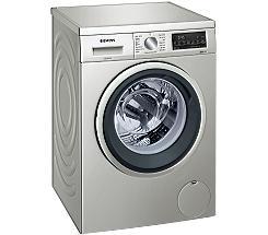 Siemens WU14UTS0 Stand-Waschmaschine-Frontlader silber-inox leasen