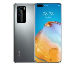 HUAWEI P40 Pro Smartphone 256GB silver frost Dual-SIM Android 10.0 51095CAG leasen