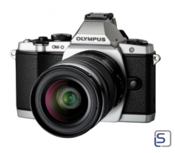 Olympus OM-D E-M5 Kit EZ-M 12-50mm silber  leasen