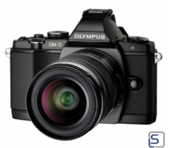 Olympus OM-D E-M5 Kit EZ-M 12-50mm schwarz  leasen