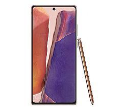 Samsung GALAXY Note20 5G Smartphone bronze N981B Dual-SIM 256GB Android 10.0 als Leasing