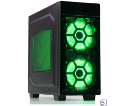 Hyrican Striker PC green i7-8700 + RTX 2080 leasen