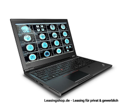 Lenovo ThinkPad P52 i7-8850H leasen, 15,6 Zoll