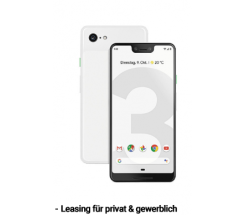 Google Pixel 3 XL Clearly White 64GB leasen