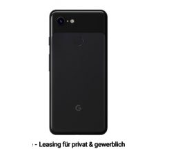 Google Pixel 3 XL 64GB Black leasen