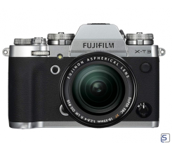 Fujifilm X-T3 Kit 18-55mm leasen, Silber
