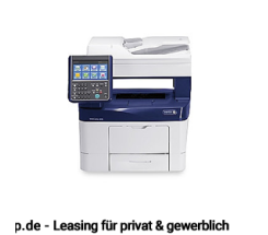 Xerox WorkCentre 3655lX S/W Laserdrucker leasen