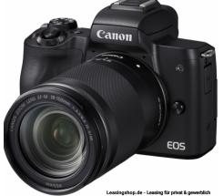 Canon EOS M50 + EF-M f3,5-6,3 18-150 IS STM Kit leasen