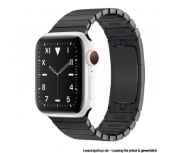 Apple Watch Series 5 GPS + Cellular mit 40mm oder 44mm, Keramik Gliederarmband Schwarz leasen