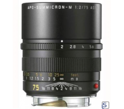 Leica SUMMICRON-M 75mm 1:2 APO leasen