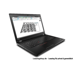 Lenovo ThinkPad P73 Full HD IPS i7-9850H leasen, 17,3 Zoll