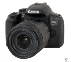 Canon EOS 850D Kit mit EF-S 18-135 mm/3,5-5,6 IS USM leasen