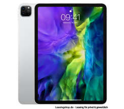 Apple iPad Pro 11 Zoll, leasen, Silber, WiFi, 128 GB bis 1 TB Speicher, neues Modell 2020