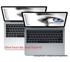 Apple MacBook Pro 13 ohne Touch Bar, 2.3 GHz i5, 8/128 GB SSD bis 1 TB SSD leasen, Space Grau MPXQ2D/A, Silber MPXR2D/A