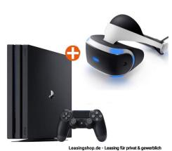 Sony PlayStation 4 Pro Bundle mit VR Brille leasen, PS4 Bundle erstellen !