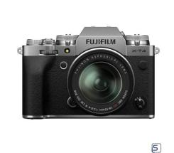 Fujifilm X-T4 Kit XF 16-80mm leasen, Silber