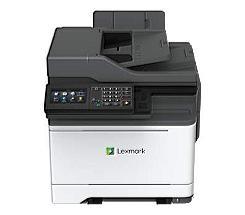 Lexmark CX522ade Farblaserdrucker Scanner Kopierer Fax LAN bei uns leasen
