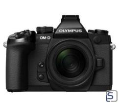 Olympus OM-D E-M1 Kit EZ-M 12-50mm leasen, schwarz