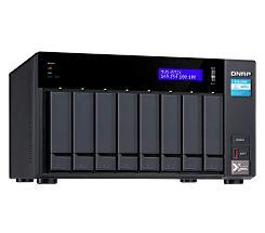 QNAP TVS-872X-i3-8G NAS System 8-Bay als Leasing