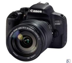 Canon EOS 800D Kit 18-200mm f3.5-5.6 IS leasen