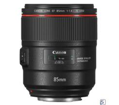 Canon EF 85mm f/1.4L IS USM leasen