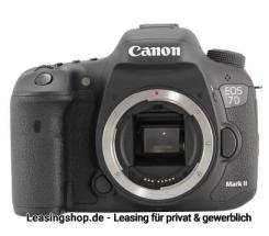 Canon EOS 7D Mark II Body leasen, auch 7D Mark 2 Kit