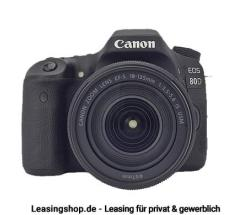 Canon EOS 80D Kit 18-135 IS USM, leasen