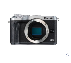 Canon EOS M6 Body silber leasen
