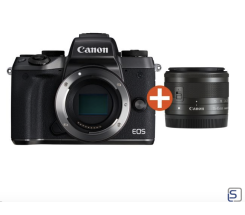 Canon EOS M5 Kit  15-45mm  Systemkamera leasen