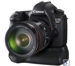 Canon EOS 6D,  Kit 24-105mm + BG-E13  leasen